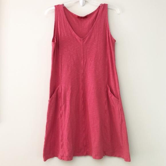 Cut Loose Dresses Sleeveless V Neck Linen Combo Dress S Poshmark